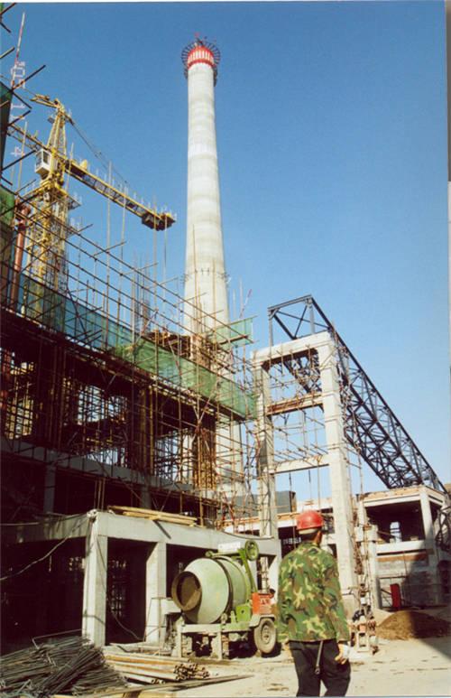 正在扩建中的北热源厂